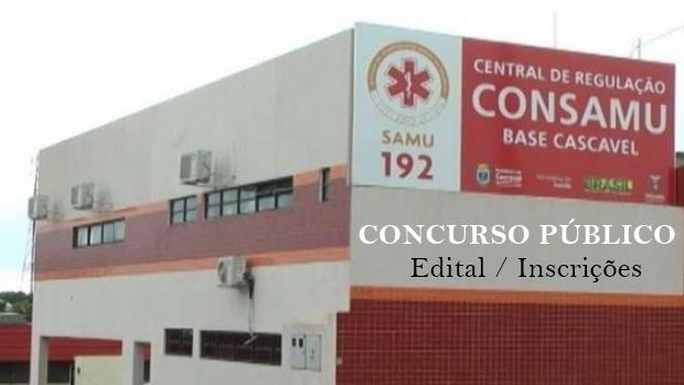 Edital do Concurso CONSAMU Oeste oferece vagas de empregos