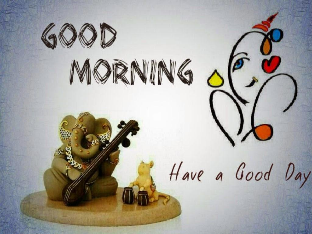 Ganesha Good Morning Pics Ganeshji Morning Cards Festival Chaska