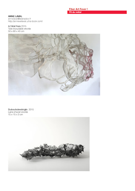 sculpture fil de métal