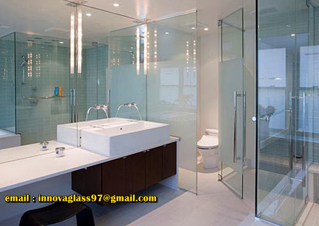 Pintu Kaca Shower Screen
