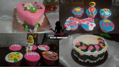 Toko kue ulang tahun pesanan yang digemari di Sidoarjo