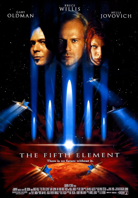 Portada película El quinto elemento