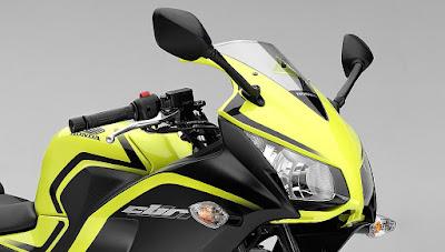 2016 Honda CBR300R look