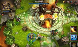 Download Siege of heroes Ruin V1.0 MOD Apk + DATA OBB