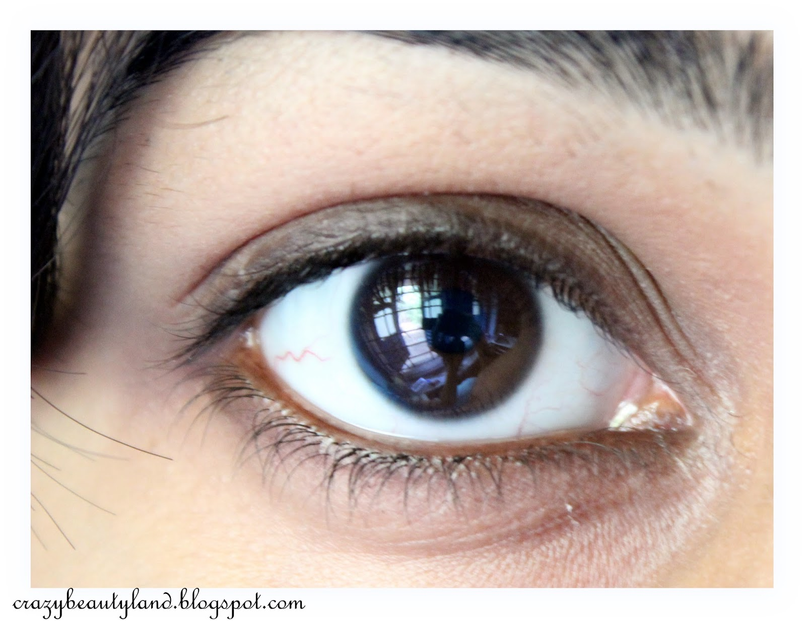 Lakme Eyeconic 10 Hr Kajal in Brown- Review,Price, Swatches, Photos, EOTD, how to use, smoky eye look, smoky brown eyes, everyday makeup, buy online in india