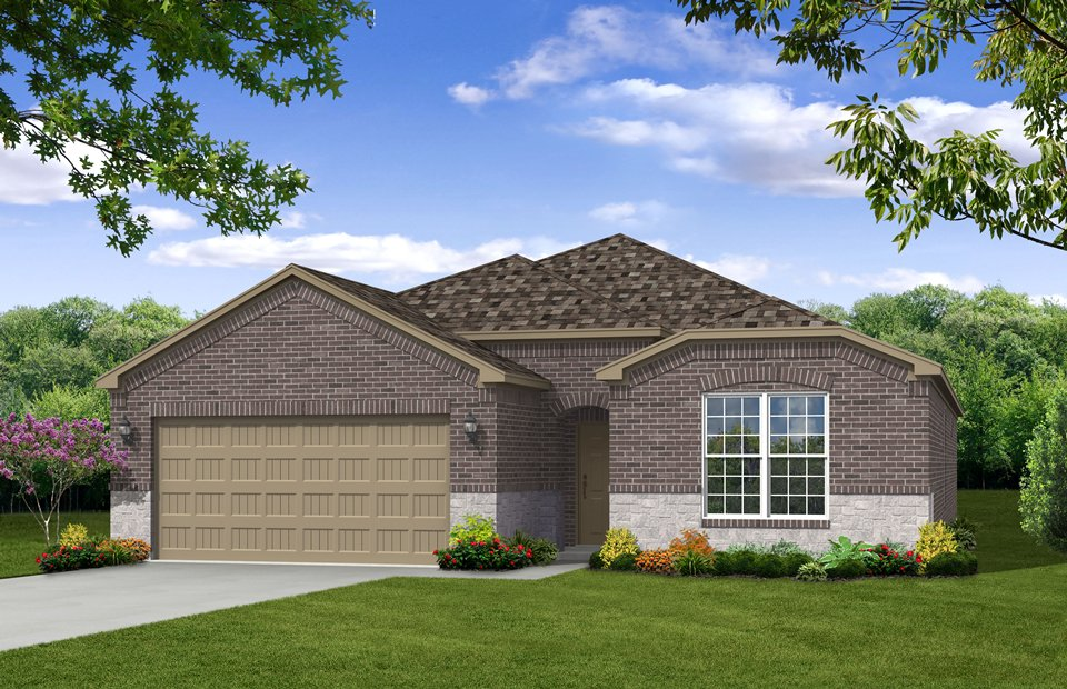 Houston Homes Exterior Designs Front Views.
