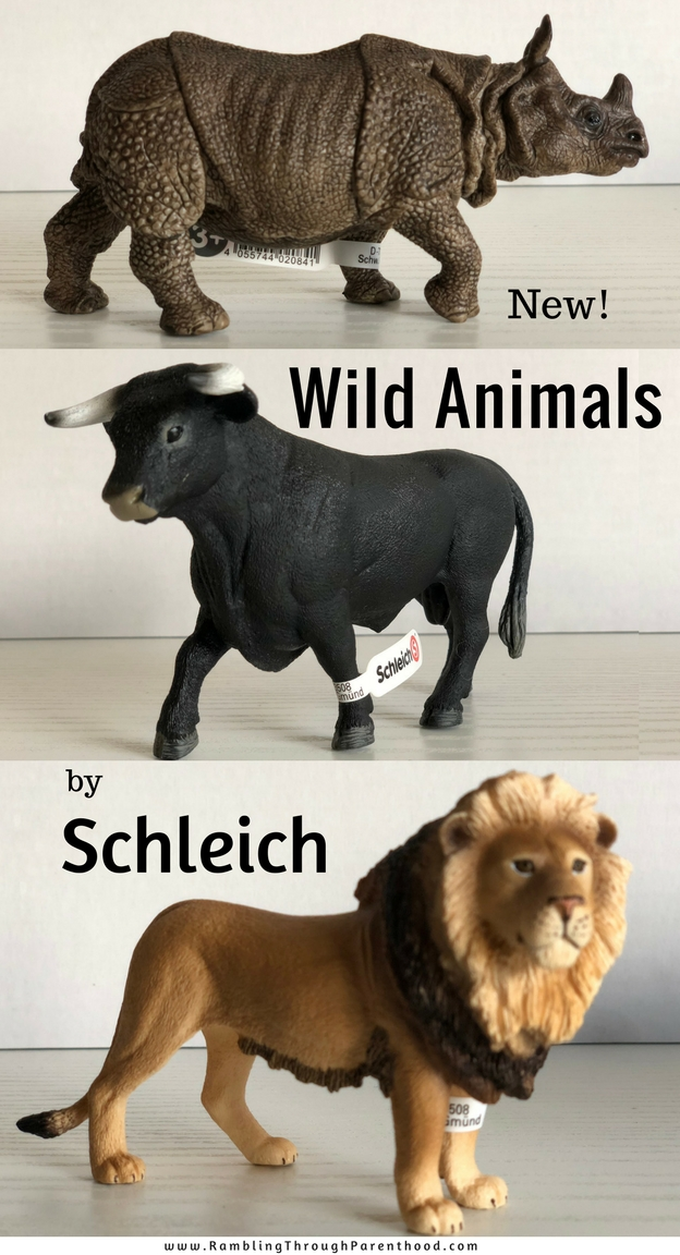 What Lego is to brick building, Schleich is to play figurines. The name is synonymous with excellent quality and attention to detail. And no matter how many you have, there is always room for another Schleich animal in the toy box, for play-based learning.