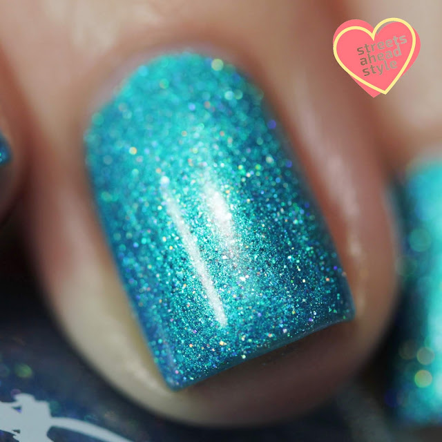 Girly Bits Cyan-tifically Proven swatch by Streets Ahead Style