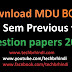 BCA 3rd Sem Mdu Question Papers Previous Year 2018