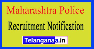 Maharashtra Police Recruitment Notification 2017