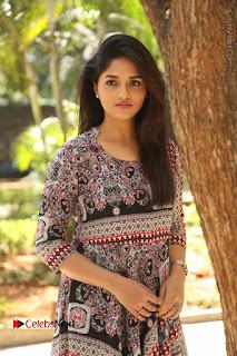 Actress Sunaina Latest Stills in Floral Dress at Pelliki Mundu Prema Katha Trailer Launch  0005.JPG