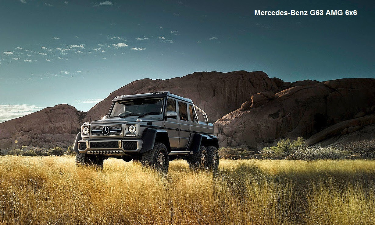 Mercedes G63 2018 >> Mercedes-Benz G63 AMG 6x6 Review | Car Reviews | New Car Pictures for 2018, 2019