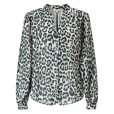 john lewis alice temperley animal print top