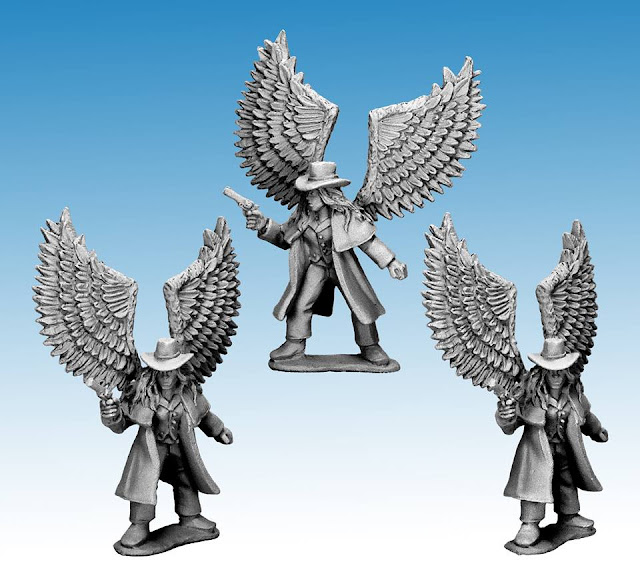 Northstar Miniatures: Dracula's America Angelic Cowboy Character
