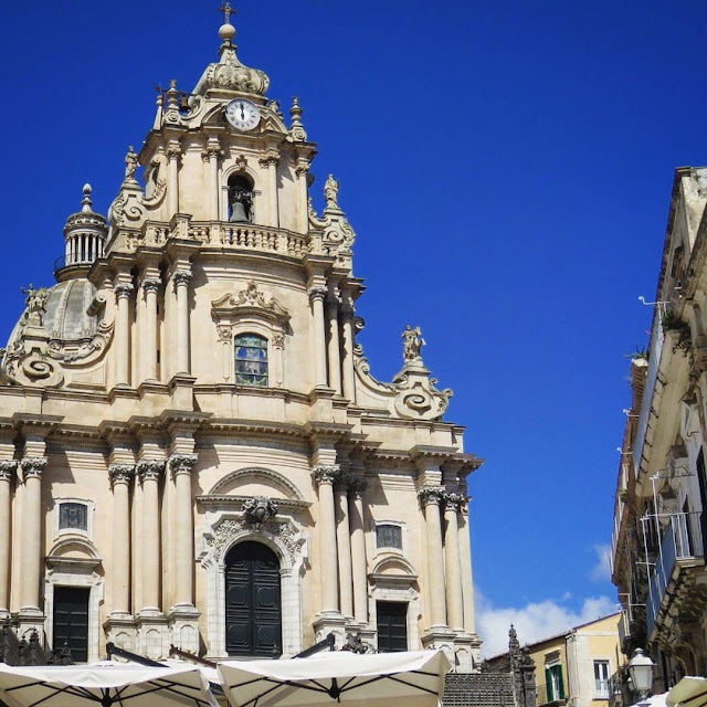 Road trip in Sicily - Baroque Church in Ragusa