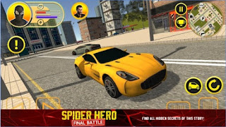 Games Spider Hero: Final Battle Apk