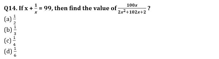 Algebra Questions for SSC CGL TIER-2 , SSC Stenographer & IB (ACIO) 2017_320.1