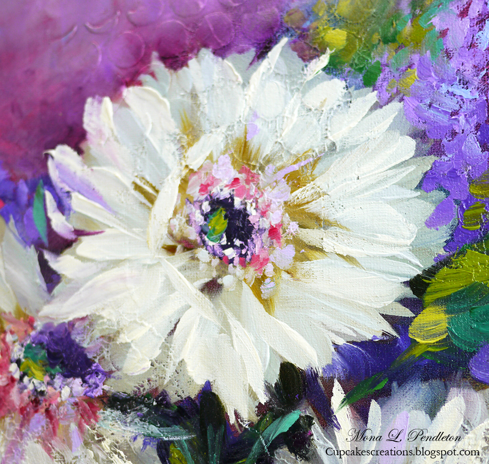 Gerbera Daisy Oil Painting