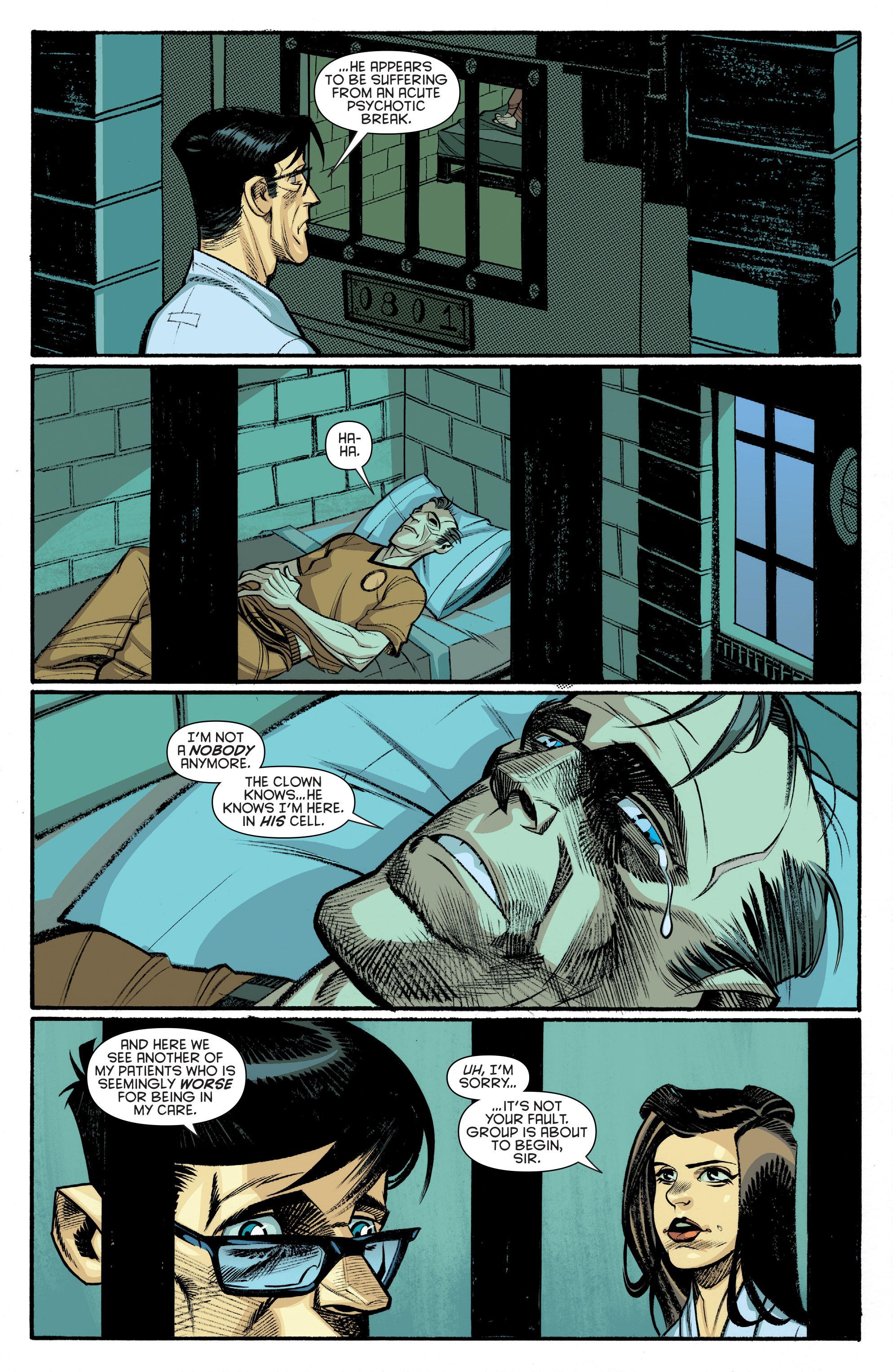Read online Arkham Manor comic -  Issue #6 - 17
