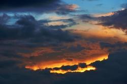 Des Himmels Glut...