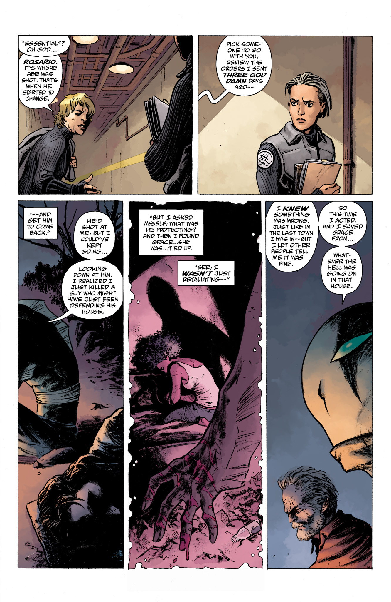 Read online Abe Sapien comic -  Issue #13 - 19