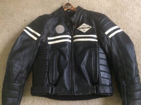 Alpinestars Jacket Leather >> Vintage Alpinestars Leather Jacket - Old Had Better