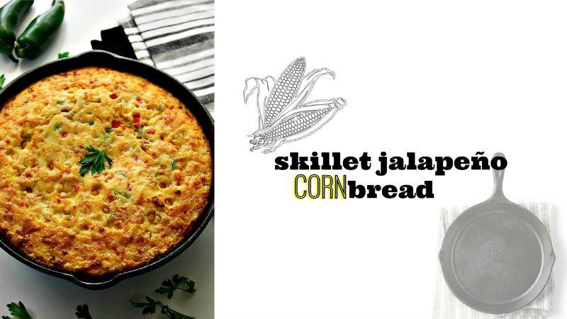 Skillet Jalapeno Cornbread