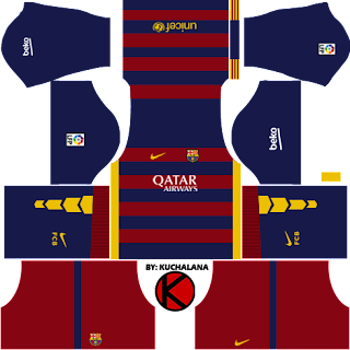 fec4c052429 Barcelona Kits 2015/2016 - Dream League Soccer - Kuchalana