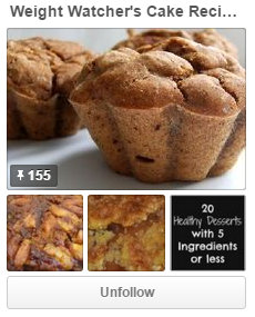 Weight Watchers Cake Recipes Board On Pinterest
