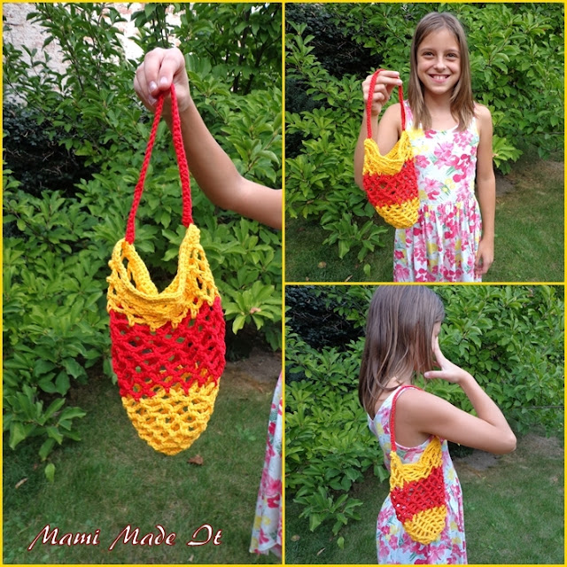 Crochet Grocery Bag - Häkelnetz