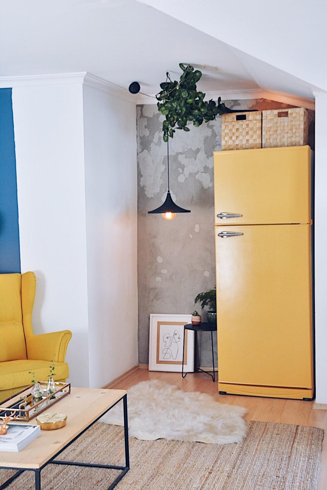 Buzdolabı Yenileme Boyama Refrigerator Makeover