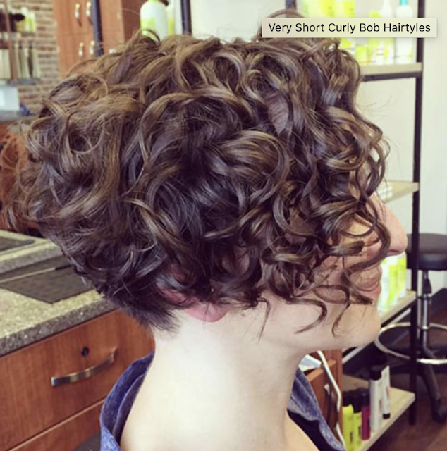 curly haircuts 2018