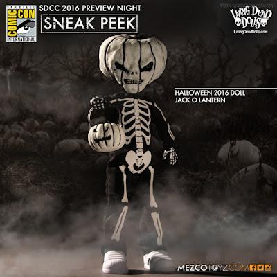 Mezco Living Dead Dolls Halloween 2016 Jack O Lantern Doll