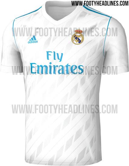 bf752a2794b9b Se filtra la camiseta del Real Madrid para la temporada 2017 2018 ...