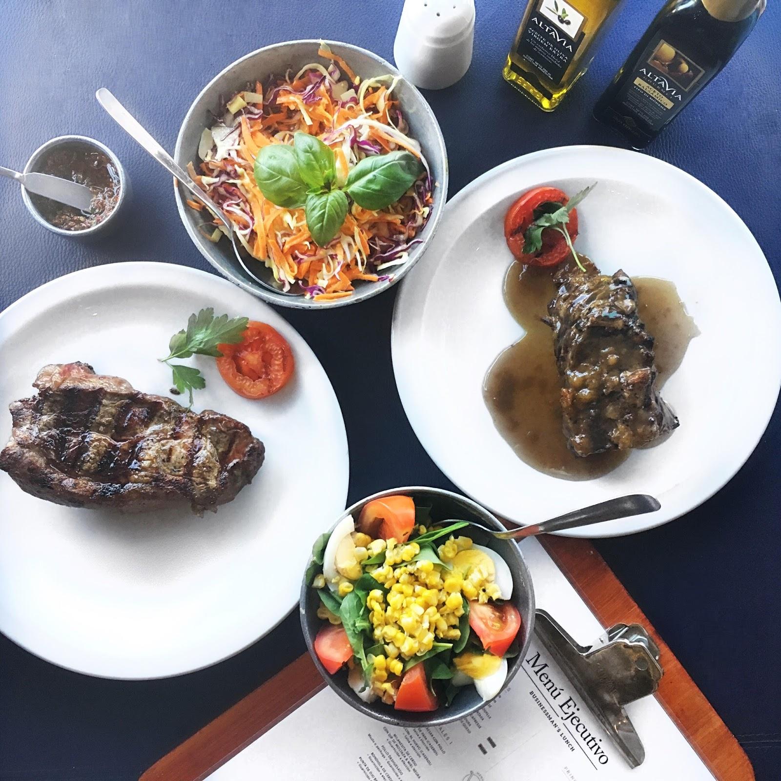 puerto madero almuerzo