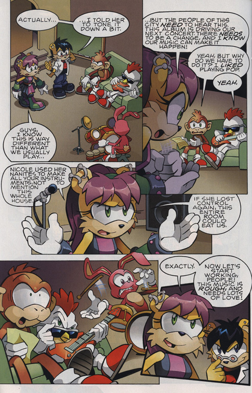 Read online Sonic The Hedgehog comic -  Issue #220 - 16