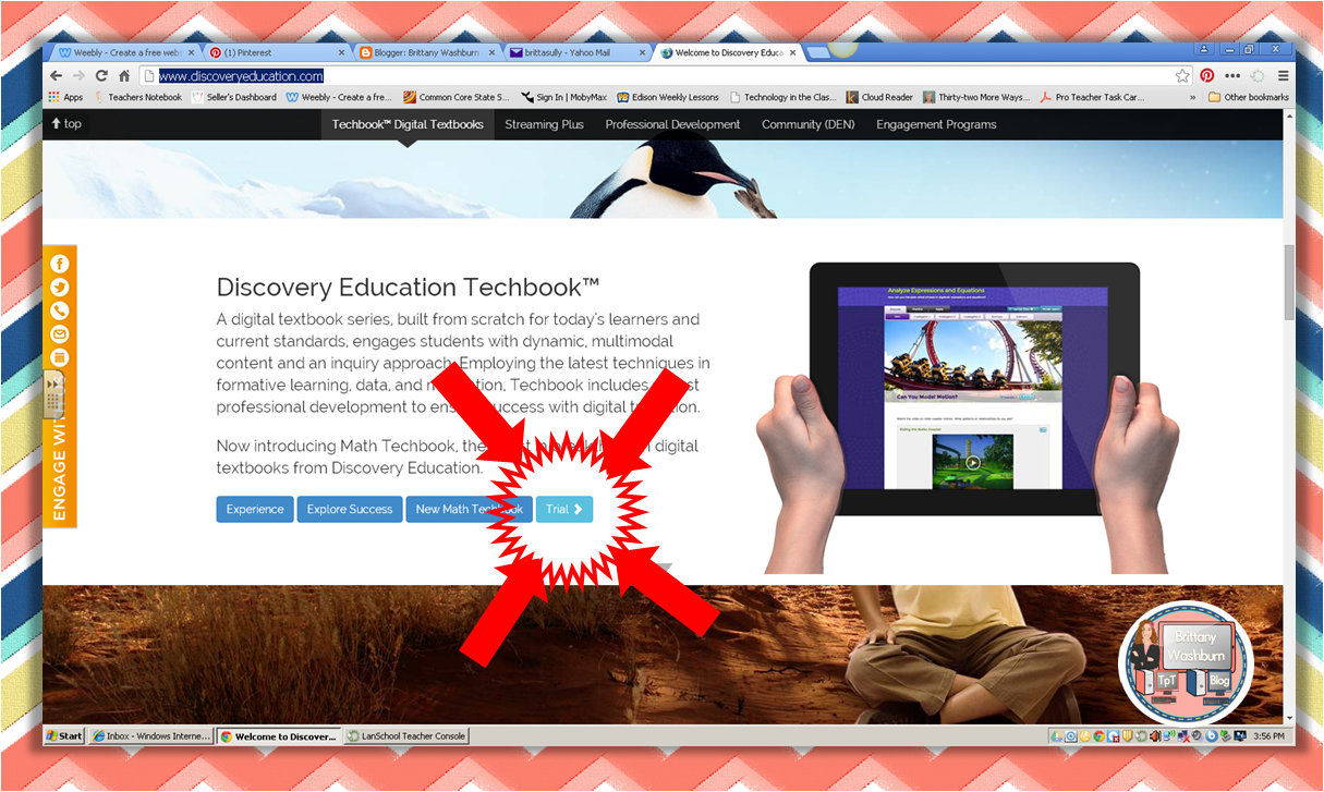 You Oughta Know about Discovery Education's Techbook Trial