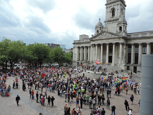 gay pride gathering portsmouth guildhall