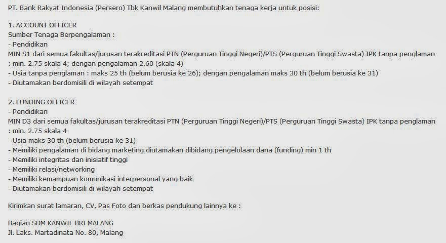 Penerimaan Rs Medan Rumah Sakit Siloam Medan Info Lowongan Terbarucom Lowongankerjabumnmalang Lowongan Kerja Malang Juni 2014