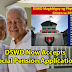 DSWD: Now Accepting Application For Social Pension Program