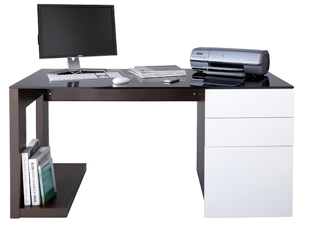 modern home office furniture desk for small spaces
