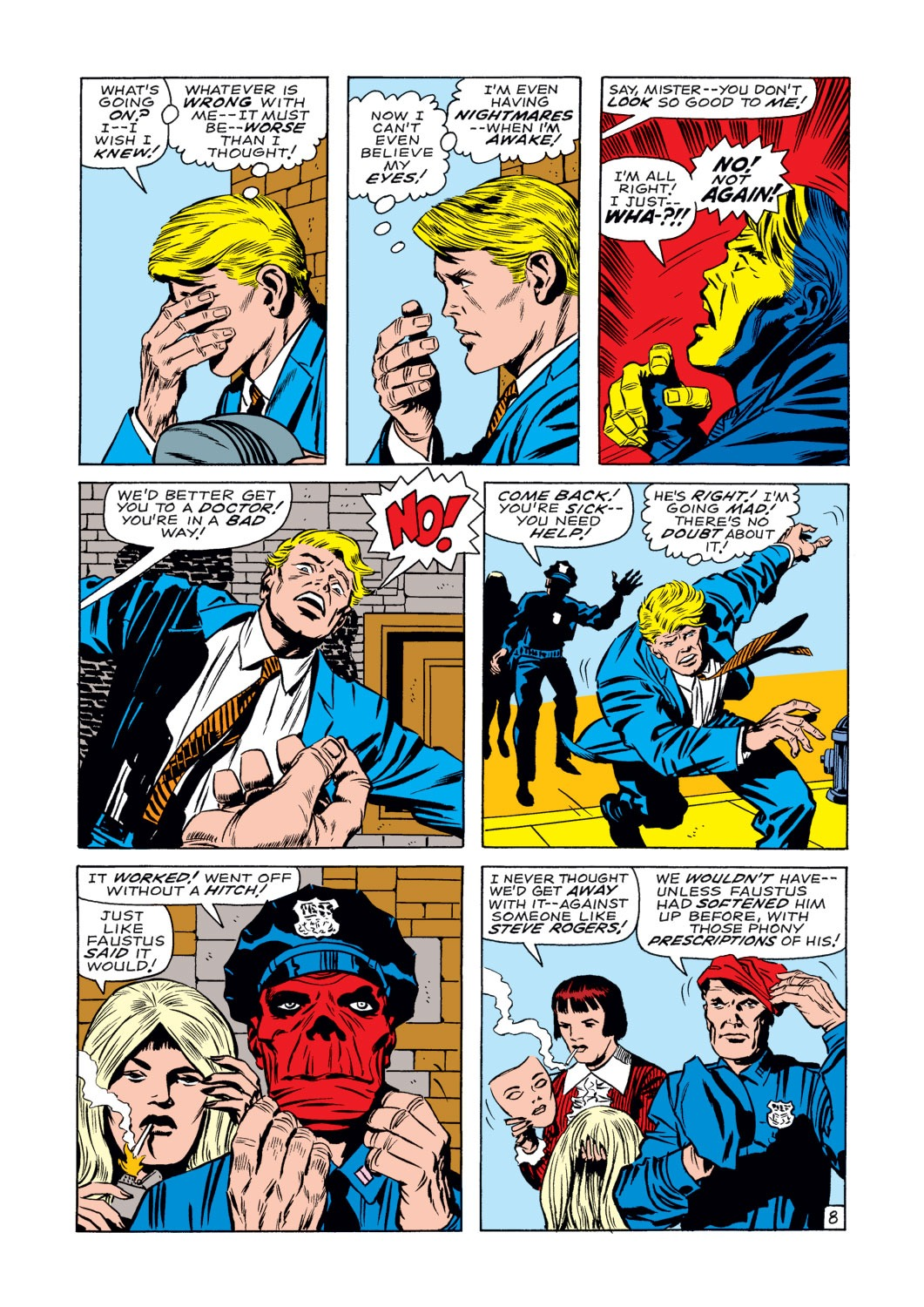 Captain America (1968) Issue #107 #21 - English 9