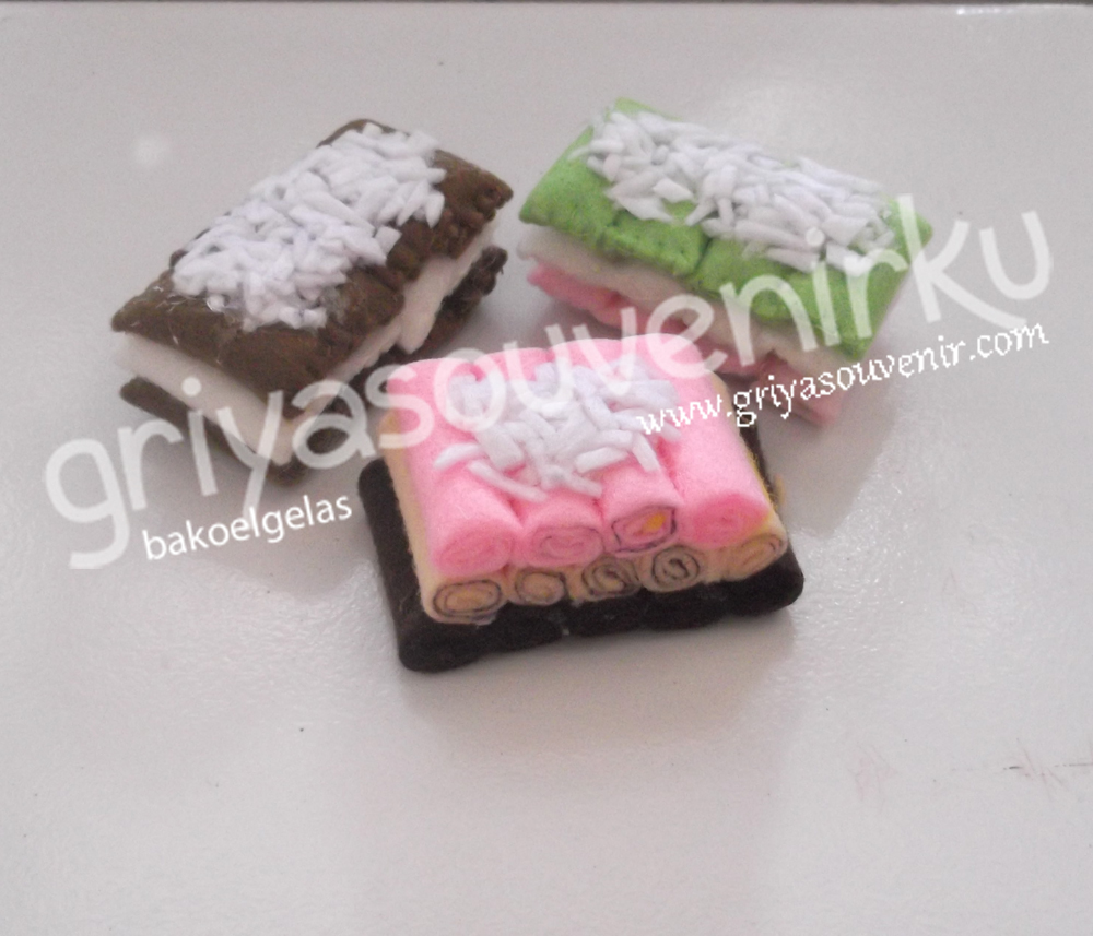 Griya Souvenir Aplikasi Flanel Berbagai Macam Kue Dan Roti
