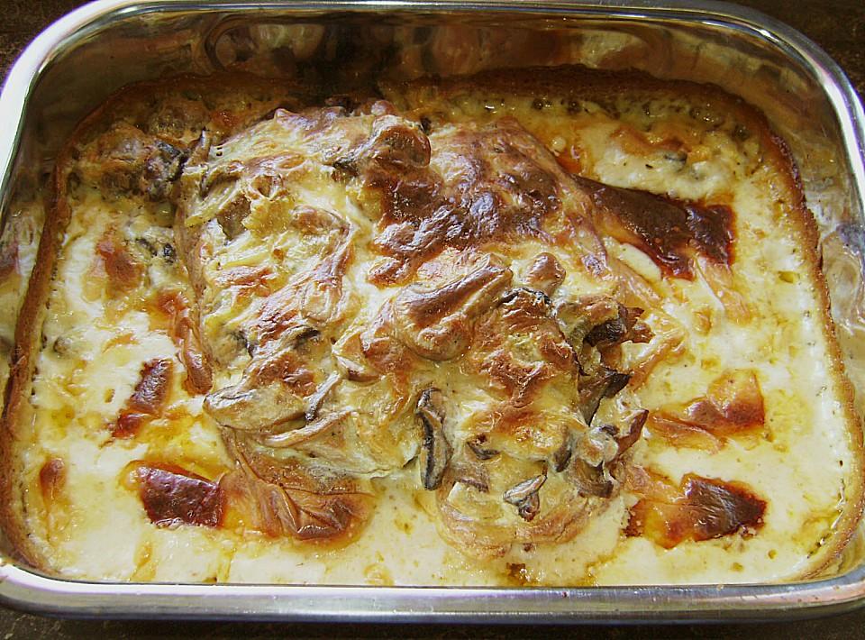 Backen - Kochen & Genießen: Schnitzel Auflauf