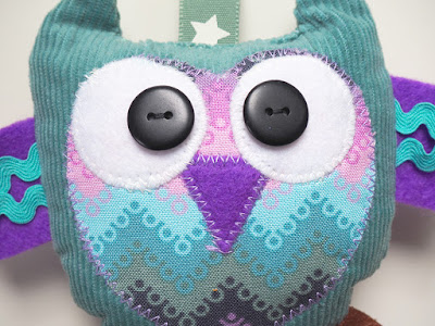 Sewn owl character by welaughindoors