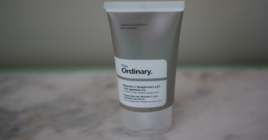First Impressions - Vitamin C Suspension 23% + HA Spheres 2% from The Ordinary