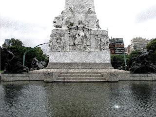 Monumento de los Españoles, no Parque 3 de Febrero, em Palermo, Buenos Aires