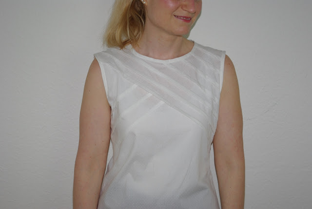 Pullover Eimsbüttel von Pech und Schwefel als Bluse aus Webware Nähblog
