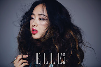 Kim Min Jung Elle March 2016