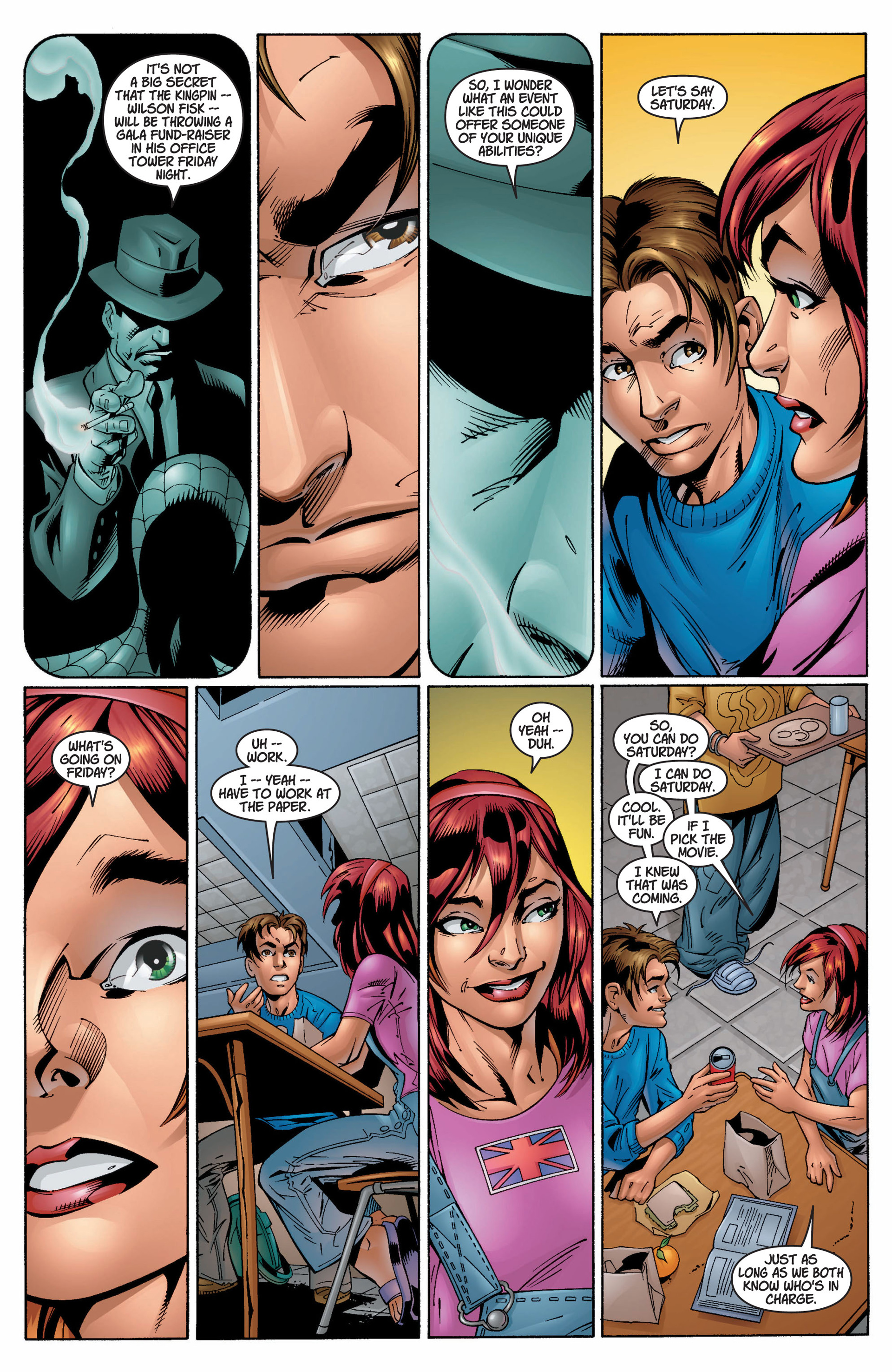 Read online Ultimate Spider-Man (2000) comic -  Issue #9 - 16